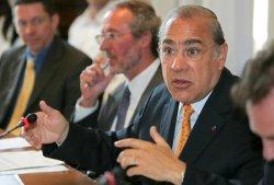 OECD SECRETARY GENERAL PRESS CONFERENCE IN PARIS
