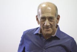 Olmert Attends Hearing in Israel