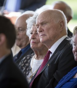 Memorial service for Neil Armstrong in Cincinnati