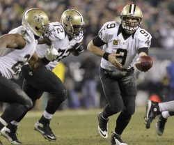 New Orleans Saints at Philadelphia Eagles NFL Football Wildcard Playoff