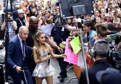 Ariana Grande on the NBC Today Show