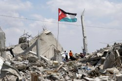 Gaza Residents Cope with the Destruction as Life Goes On