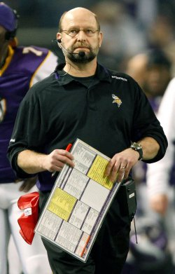 Minnesota Vikings head football coach Brad Childress fired