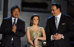George Lopez, Eva Longoria, and Jimmy Smits host Fiesta Latina at the White House