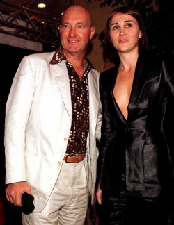 Dennis Quaid and his wife Evi