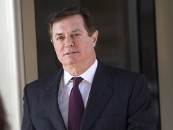 Former Trump campaign manager Paul Manafort at U.S. District Court in Washington, D.C.
