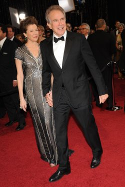 Annette Bening and Warren Beatty arrive at the 83rd annual Academy Awards in Hollywood
