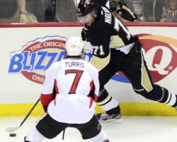 Penguins Defeat Senators 4-3 in Pittsburgh