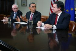 Obama Hosts Summit Meeting With European Union Leaders At White House