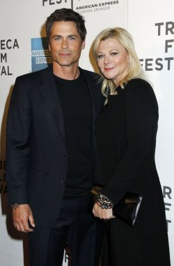 """Rob Lowe arrives for the Tribeca Film Festival Premiere of """"Knife Fight"""" in New York"""