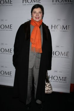 "Isabella Rossellini arrives for the Premiere Screening of ""Home"" in New York"