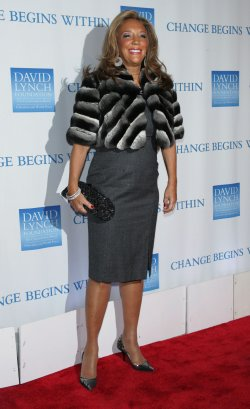 "Denise Rich arrives for the 2nd Annual ""Change Begins Within"" Benefit in New York"