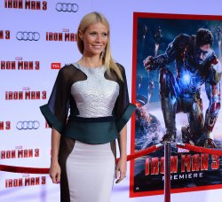 "Gwyneth Paltrow attends the ""Iron Man 3"" premiere in Los Angeles"