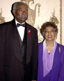 Ossie Davis and Ruby Dee attend the Directors Guild of America