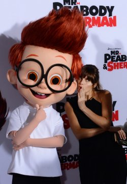 """""""Mr. Peabody & Sherman"""" premiere held in Los Angeles"""