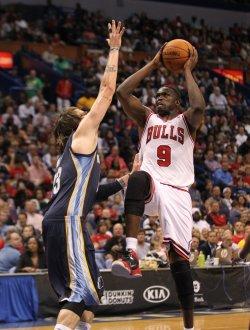 Memphis Grizzlies vs Chicago Bulls