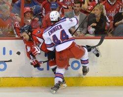 New York Rangers vs Washington Capitals NHL Playoffs in Washington
