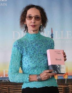 Joyce Carol Oates arrives at American Film Festival in Deauville