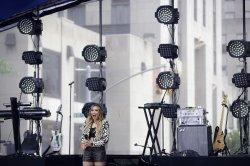 Rachel Platten performs on the NBC Today Show
