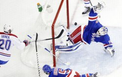 Montreal Canadiens vs New York Rangers in game 6 of the NHL Eastern Conference finals