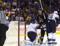 St. Louis Blues vs Phoenix Coyotes hockey