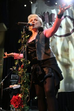 Deborah Harry performs in concert in Las Vegas