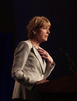Former Democratic candidate for U.S. Senate seat Martha Coakley.