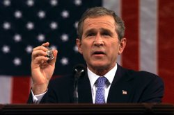 President Bush addresses a Joint Session of Congress