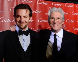 Bradley Cooper and Richard Gere arrive at the 24th annual Palm Springs International Film Festival in Palm Springs, California