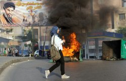 Labor strike turns violent in Beirut