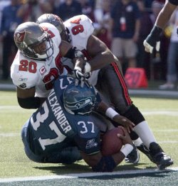 TAMPA BAY BUCCANEERS AT SEATTLE SEAHAWKS NFL FOOTBALL