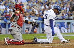 Los Angeles Dodgers vs St. Louis Cardinals in Game 4 of the NLCS in Los Angeles