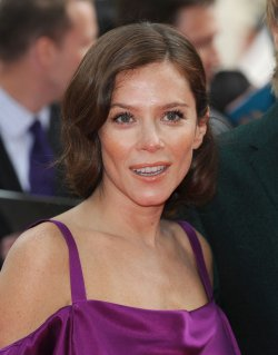 "Anna Friel attends the Gala Premiere of ""The Amazing Spider-Man"" in London."