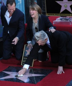 Sissy Spacek receives star on the Hollywood Walk of fame in Los Angeles