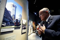 National September 11 Memorial Museum is previewed in New York