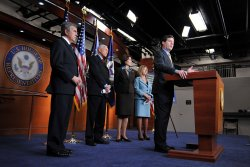 GOP members speaks on health care reform and abortion in Washington