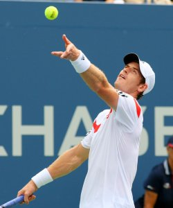 Andy Murray vs Florian Mayer at the U.S. Open in New York