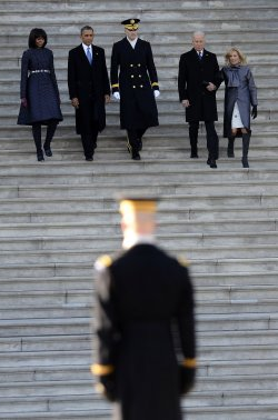 President Obama Inaugural Parade in Washington