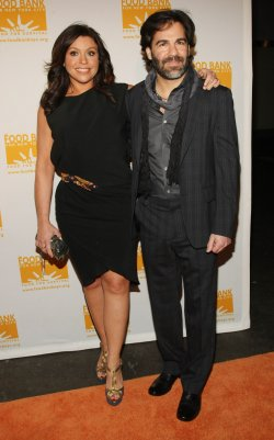 Rachael Ray and her husband John Cusimano attend the Can Do Awards in New York