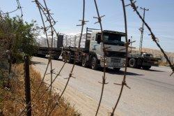 Trucks deliver supplies into Gaza