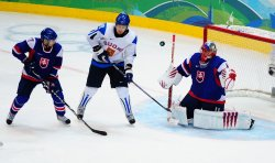Finland vs. Slovakia in bronze medal men's ice hockey at 2010 Winter Olympics in Vancouver