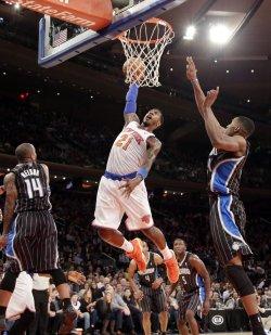 Knicks vs Orlando at Madison Square Garden