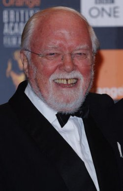 "ACTOR/DIRECTOR RICHARD ATTENBOROUGH AT ""ORANGE BRITISH ACADEMY FILM AWARDS"""