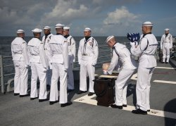 Astronaut Neil Armstrong burried at sea