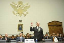 Bank of America CEO Kenneth Lewis testifies on Capitol Hill in Washington