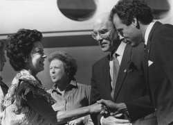 Princess Margaret visits Dallas Texas