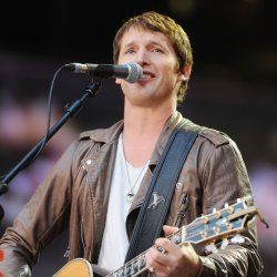 James Blunt performs in London