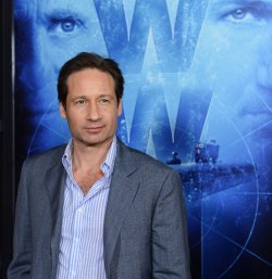 "David Duchovny attends the ""Phantom"" premiere in Los Angeles"