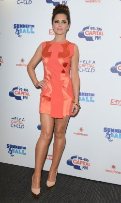 "Cheryl Cole attends ""Capital FM Summertime Ball"" in London"