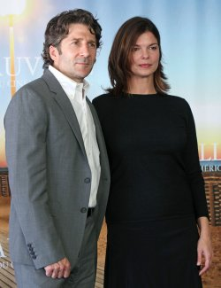 Leland Orser and Jeanne Tripplehorn arrive at American Film Festival in Deauville